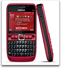 Nokia E63 QWERTY Keypad-RED-Imported
