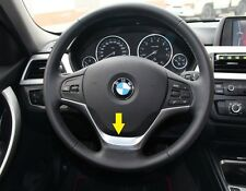 BMW 3 Series F30 320 2013 2014 1 Series F20 116 Chrome Steering Wheel Cover trim