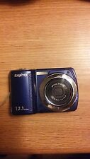 Sanyo Xacti VPC-S120 12.1 MegaPixels Digital Camera - works good