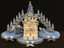 Lighted Cinderella Quinceanera Cake Topper, Decoration, Mis Quince, Sweet 16