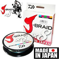 Daiwa J-BRAID Braided 80-500MU Line 80lb 550yd 550 yds 500 Meter MULTI-COLOR