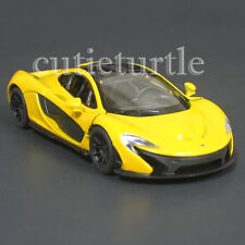 Kinsmart Mclaren P1 1:36 Diecast Toy Car Yellow