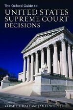 The Oxford Guide to United States Supreme Court Decisions (2005, Hardcover)