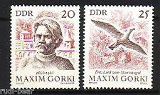DDR Nr.  1351-52 **  Maksim Gorkij   Maxim Gorki