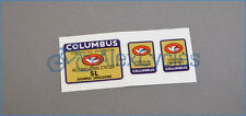 Bicycle Columbus SL Doppio Spessore Tubi Forcella Frame & Fork Decals Stickers