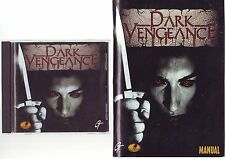 Dark Vengeance-Juego de PC-rápido post-Completo con Manual