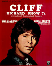 Cliff Richard Show 71 ORIGINAL Konzertplakat 1971 The Shadows ZUSTAND BEACHTEN