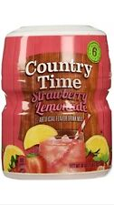 Country Time Strawberry Lemonade Drink Mix 18 oz