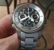 GIRARD PERREGAUX BMW USA 87 ORACLE RACING CHALLENGER. ON BRACELET with WARRANTY