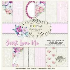 Lemon Craft Scrapbooking Paper - Just Love Me 12 x 12 Collection