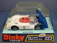 DINKY TOYS MODEL  No.223    McLAUREN M8A CAN AM   MIB