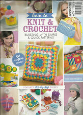 HOW TO KNIT & CROCHET FOR BEG, 2014   NO.1 ( LEARN TO KNIT & CROCHET TODAY ! )