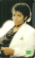 RARE / CARTE TELEPHONIQUE PREPAYEE - MICHAEL JACKSON / LIMITED EDITION PHONECARD