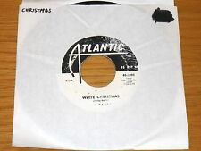 "CHRISTMAS 45 RPM - VIC BARREL - ATLANTIC 2083 - ""WHITE CHRISTMAS"""
