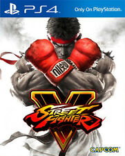 Street Fighter V PS4 BRAND NEW SEALED UK OFFICIAL