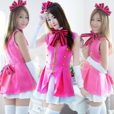 Women Gilr Lolita Costume Cosplay Hen Party Maid Uniform Halloween Fancy Dress