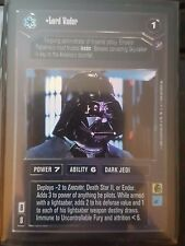Star Wars CCG Reflections II Lord Vader FOIL NrMint-MINT SWCCG