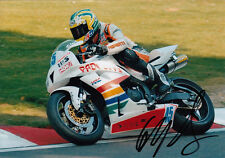 Glen Richards Hand Signed Padgetts Honda 7x5 Photo.