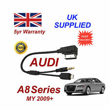 AUDI A8 Series cable For Samsung Galaxy S2 S3 S4 S5 Micro USB & AUX 3.5mm Cable