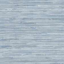 "12""/31cm Wallpaper SAMPLE Ocean Blue Faux Grasscloth PA34213"