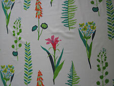 "SANDERSON CURTAIN FABRIC DESIGN ""Floral Bazaar"" 2.9 METRES BRIGHTS MULTI (290 CM"