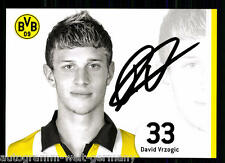 David Vrzogic Bor. Dortmund 2006-07 TOP AK  + A 69182