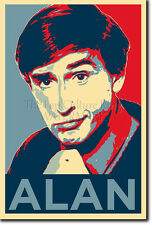 ALAN PARTRIDGE PHOTO PRINT POSTER GIFT (OBAMA HOPE INSPIRED) STEVE COOGAN