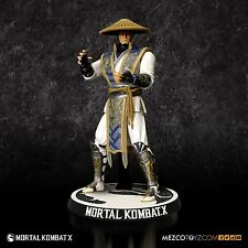 Mortal Kombat X Raiden 4 Inch Action Figure Eternal God of Thunder MEZCO