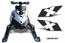 AMR Racing Ski Doo Rev XP Summit Sled Snowmobile Headlight Eye Kit 08-12 LT OUT