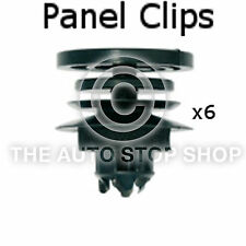 Panel Clips Doors Pannels Seat Leon/Toledo/Ibiza Pack of 6 Part 10302se