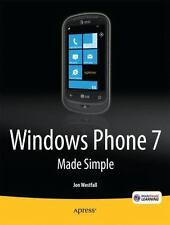 Windows Phone 7 Made Simple, Westfall, Jon, New Book