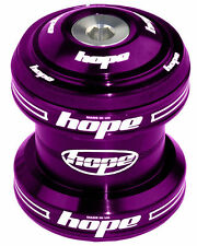 "Hope Conventional Headset 1-1/8"" MTB XC AM Enduro DJ - Purple - Brand New"