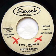 HEAR Buster Brown 45 Two Women/My Blue Heaven SEROCK 2005 EX promo soul R&B mod