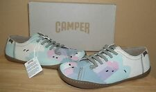 Camper Twins K200161-002 Womens Multi-color Nubuck Slip-on Shoes New NIB 39/US 9