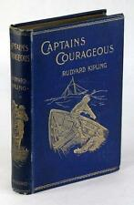 FIRST EDITION RUDYARD KIPLING 1897 CAPTAINS COURAGEOUS STORY OF THE GRAND BANKS