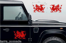 Welsh Dragon Stickers Wales Cymru Vinyl Car laptop Wall Art Decals Graphic