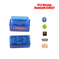 New Mini OBD2 OBDII ELM327 v1.5 Android Bluetooth Adapter Auto Scanner Torque