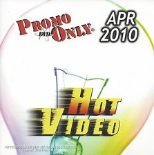 PROMO ONLY- New, DVD HOT VIDEO, APRIL-2010, Shakira,Justin Bieber,Bon Jovi,Rihan