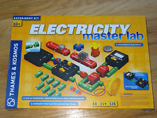 Electricity Master Lab Thames & Kosmos Electric Current Transformer Coils Relays