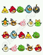 Angry Birds  Nail decals (Water Decals) Angry Birds Nail art. Free Shipping!!
