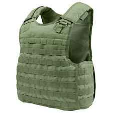 CONDOR MOLLE Nylon Quick Release Plate Carrier Armor Vest qpc - OLIVE OD GREEN