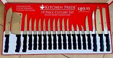 Kitchen Pride 19 PC Cutlery Set You Will Never Have To sharpen Your Knives Again