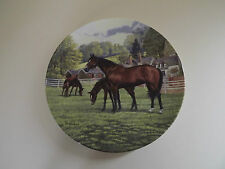 Royal Doulton Britain's Finest Horses Plate 'The Thoroughbred' (L63,172)