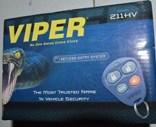 Viper 211HV 1,500-Ft  Keyless Entry System With Two 4 button Remotes   ***NEW***