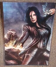 Underworld Selene vs Lycans Glossy Art Print 11 x 17 In Hard Plastic Sleeve