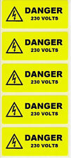 Electrical Labels - 50 Danger 230V  70 x 30mm JPSLABEL16