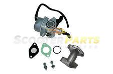Dirt Pit Bike Carburetor Intake Part PZ19 TAOTAO SUNL BAJA ROKETA 50cc 70cc 19mm