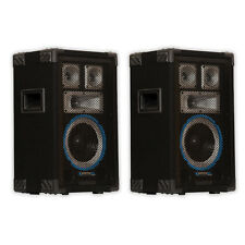 Technical Pro VRTX8 Passive DJ Speaker Pair 1200 Watts PA Karaoke Studio 2VRTX8