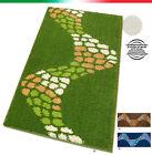 Tappeto MOSAICO moderno 7 MISURE per cucina bagno camera passatoia corsia SHAGGY