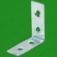 "6x 50mm (2"") Corner Braces, L Shaped, Right Angle Support Fixing Repair Brackets"